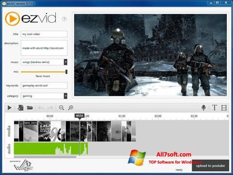 Ekraanipilt Ezvid Windows 7