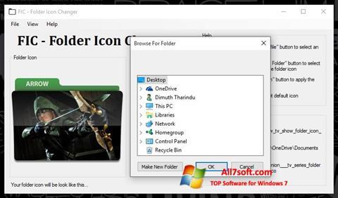 Ekraanipilt Icon Changer Windows 7