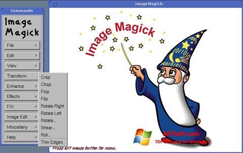 Ekraanipilt ImageMagick Windows 7