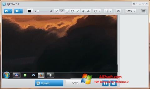 Ekraanipilt QIP Shot Windows 7