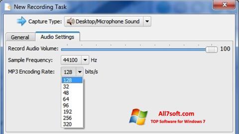 Ekraanipilt SMRecorder Windows 7