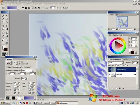 Ekraanipilt Artweaver Windows 7