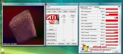 Ekraanipilt ATITool Windows 7