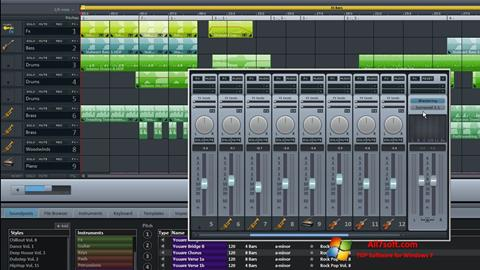 Ekraanipilt MAGIX Music Maker Windows 7