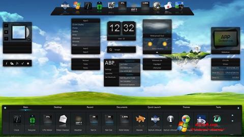 Ekraanipilt Winstep Nexus Windows 7