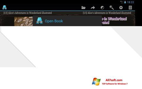 Ekraanipilt AlReader Windows 7