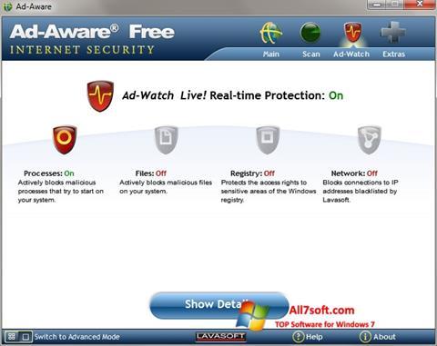 Ekraanipilt Ad-Aware Windows 7