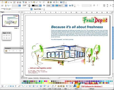 Ekraanipilt Apache OpenOffice Windows 7