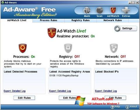 Ekraanipilt Ad-Aware Free Windows 7