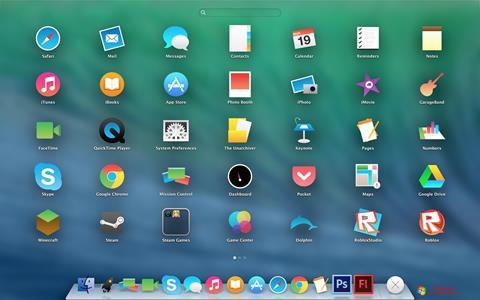 Ekraanipilt OS X Flat IconPack Installer Windows 7