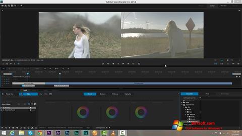 Ekraanipilt Adobe SpeedGrade Windows 7