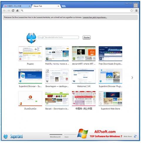Ekraanipilt Superbird Windows 7