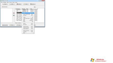 Ekraanipilt ArtMoney Pro Windows 7