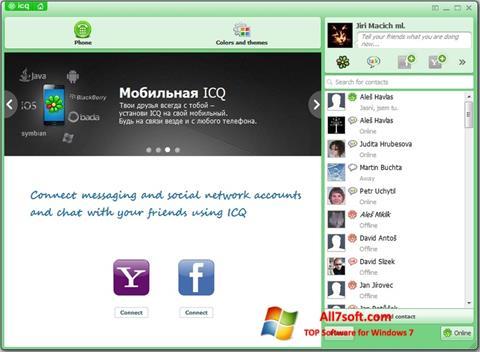 Ekraanipilt ICQ Windows 7
