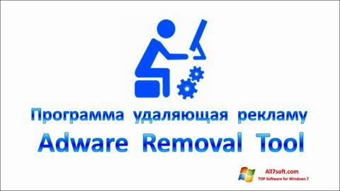 Ekraanipilt Adware Removal Tool Windows 7