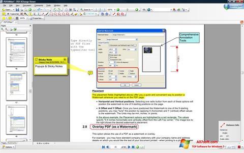 Ekraanipilt PDF-XChange Viewer Windows 7
