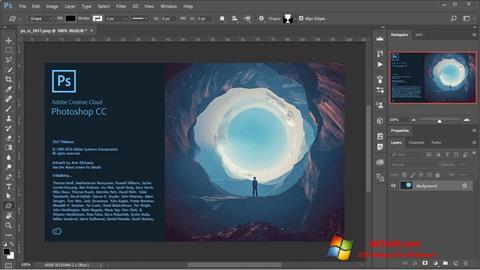 Ekraanipilt Adobe Photoshop Windows 7