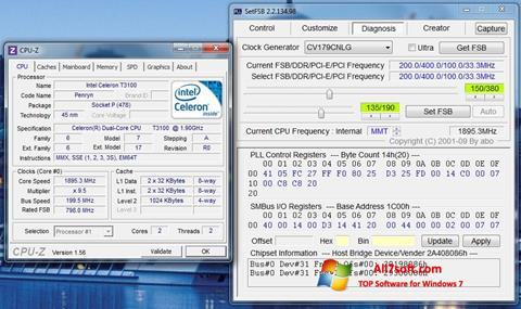 Ekraanipilt SetFSB Windows 7