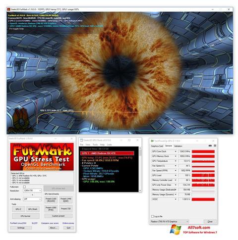 Ekraanipilt FurMark Windows 7
