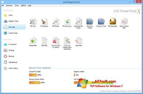 Ekraanipilt jv16 PowerTools Windows 7