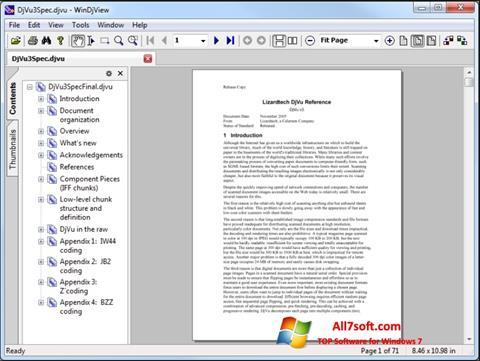 Ekraanipilt WinDjView Windows 7