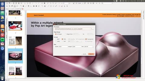 Ekraanipilt Master PDF Editor Windows 7