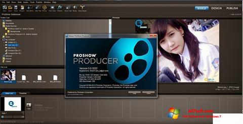Ekraanipilt ProShow Producer Windows 7