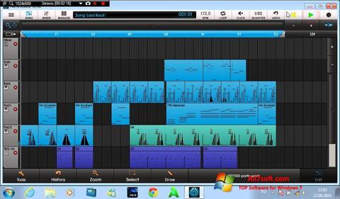 Ekraanipilt NanoStudio Windows 7