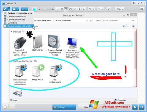 Ekraanipilt QIP Windows 7