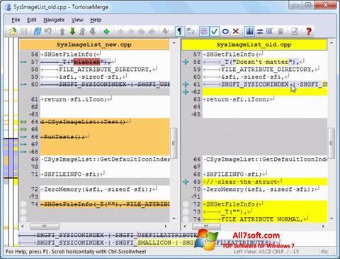 Ekraanipilt TortoiseSVN Windows 7