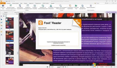 Ekraanipilt Foxit Reader Windows 7
