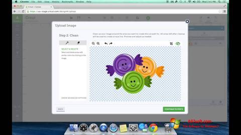 Ekraanipilt Image Cut Windows 7