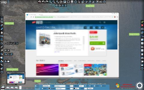 Ekraanipilt Ashampoo Snap Windows 7