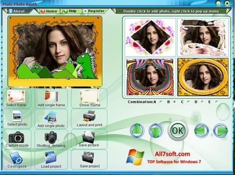 Ekraanipilt Photo Booth Windows 7
