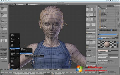 Ekraanipilt Blender Windows 7