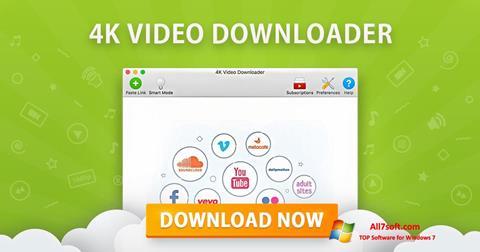 Ekraanipilt 4K Video Downloader Windows 7