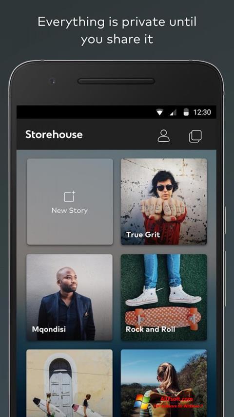 Ekraanipilt StoreHouse Windows 7