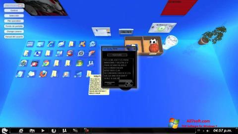 Ekraanipilt Real Desktop Windows 7