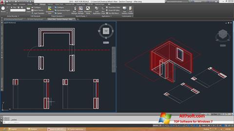 Ekraanipilt AutoCAD Architecture Windows 7