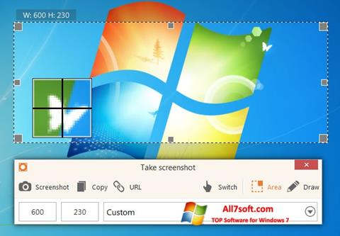 Ekraanipilt ScreenShot Windows 7