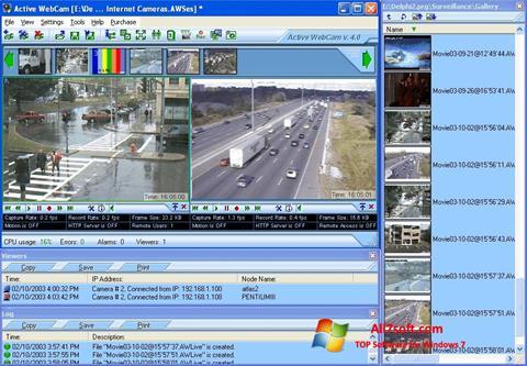 Ekraanipilt Active WebCam Windows 7